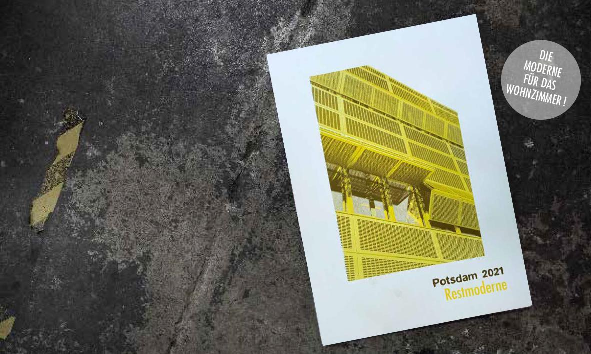 Kalender 2021: Potsdam Restmoderne